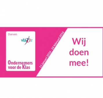 Iemants is participating in 'Vlajo Ondernemers voor de Klas'