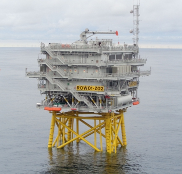 Offshore-Installation Race Bank 02