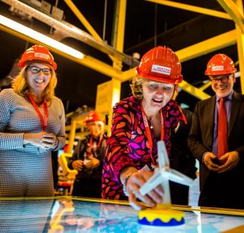Offshore Experience geopend door president-directeur Shell