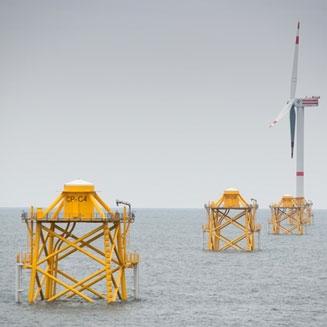 Thornton Bank II & III Offshore Windpark / Jackets